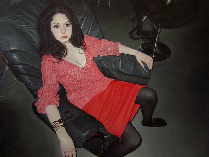 sans titre, Hérodiade Huile sur toile 120x160 cm 2014