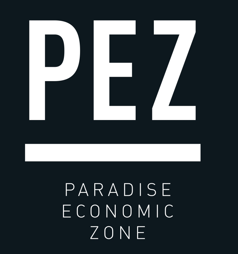 Logo de la zone P.E.Z . dimensions variables