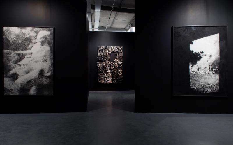 Vue exposition FATUM / © Marc Domage