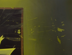 Χάοσ γένέτο - 2011 (courtesy D.Foutris) Acrylique sur MDF 105 x 70 cm  Inventaire n°2013 21 26 Photo / Claude Gaspari Collection du MAC/VAL