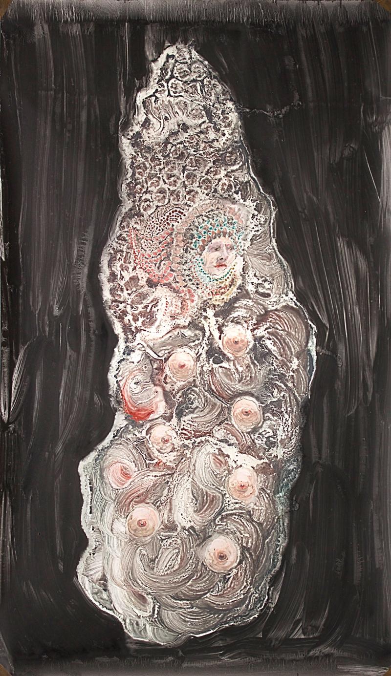 Femme Montagne 3, 180x110 cm