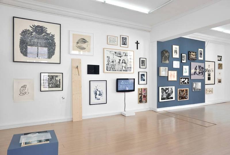 Vue de l'exposition. Crédits photo : Rebecca Fanuele