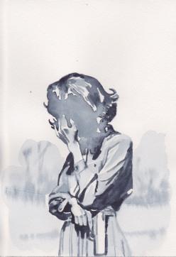 Femme au pistolet,HD 18x26, dec2014 1.jpeg
