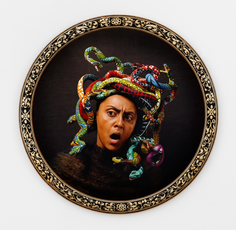 MEDUSA NORTH, 2015 Digital chromogenic print Framed diameter: 113.98 cm (44 7/8 in.) Edition of 5
