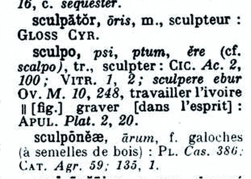SCULPERE - Visuel
