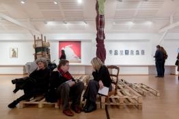 Vernissage de l'exposition W/W Art, femmes et guerre le samedi 12 mars 2016