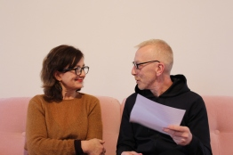 Agnes Thurnauer & Pascal Lièvre Photo / Nicolas Gimbert