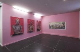 Stéphanie Hoareau - Iris Levasseur (c) Musée des Beaux-Arts de Dole, cl. Jean-Loup Mathieu