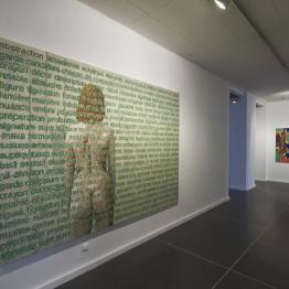 Agnes Thurnauer - Anne Bregeaut (c) Musée des Beaux-Arts de Dole, cl. Jean-Loup Mathieu