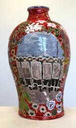 Suzanne Husky, Faïence ACAB, 2015, céramique, 20 x 20 x 40 cm, coll. FRAC Aquitaine