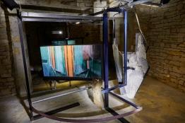 vernissage de l'exposition de la residence d'artistes