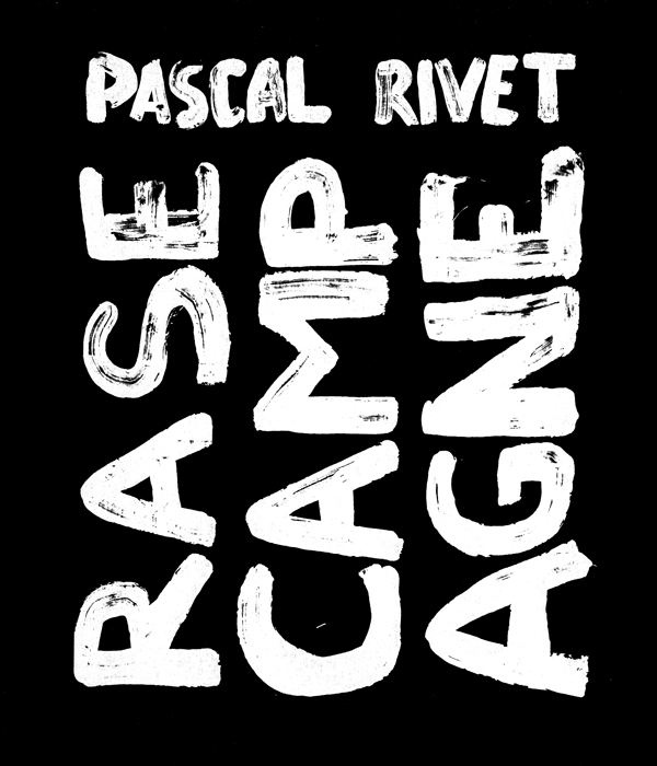 CATALOGUE Pascal Rivet Le Pan Modeste Editions FRAC Bretagne Gwinzegal