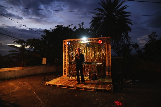 Lip sync sur la voix de Françoise Vergès, Frac Réunion, 2019